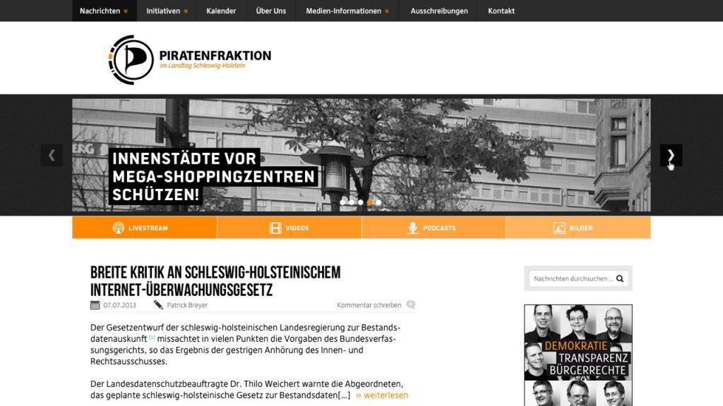 Piratenfraktion Schleswig-Holstein