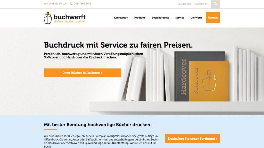 Buchwerft Onlinekalkulator