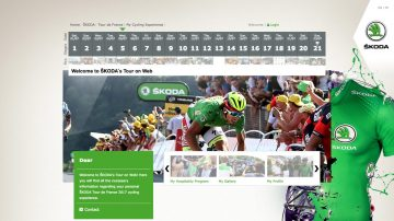 ŠKODA's Tour on Web