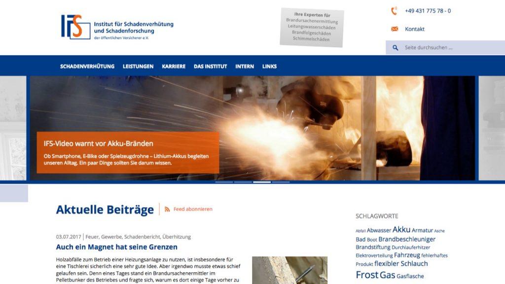 Institut für Schadenverhütung und Schadenforschung (IFS)
