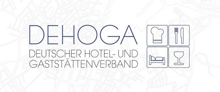 Kiel Karte mit Dehoga-Logo