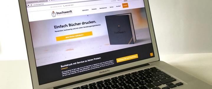Buchwerft-Webseite Relaunch 2016