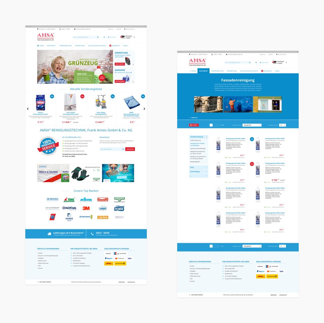 AMSA Reinigungstechnik - Shopware