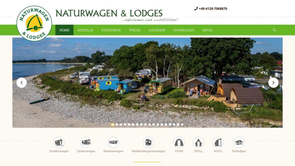 Stimmungsbild für Projekt Naturwagen und Lodges