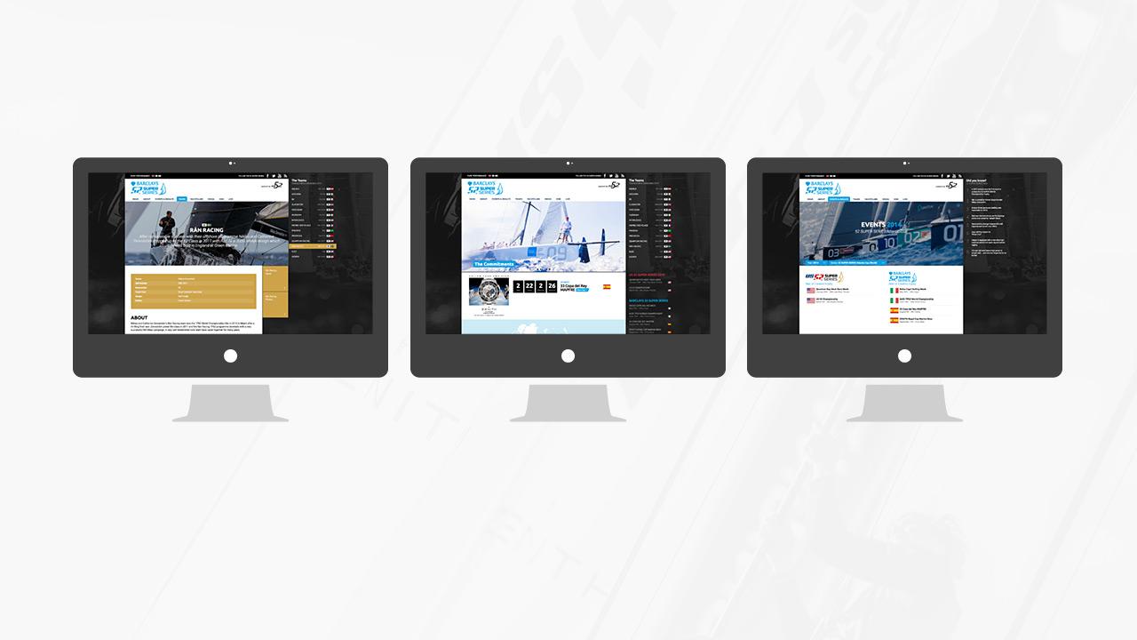 52 SUPER SERIES - Klassische Desktop Ansichten