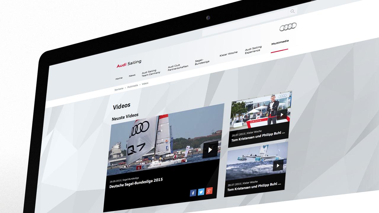 Audi Sailing - Segelportal