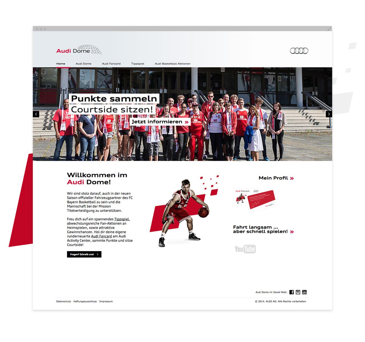 Audi Dome Fans - Startseite