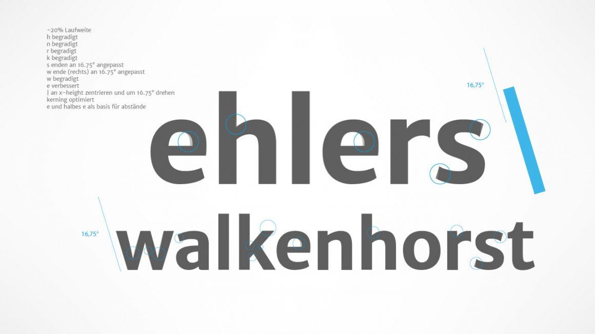 Architekturbüro ehlers  walkenhorst - Optimierung der Glyphen