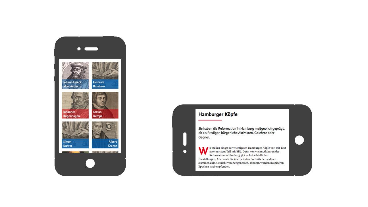 Hamburger Reformation – Auch auf Smartphones top