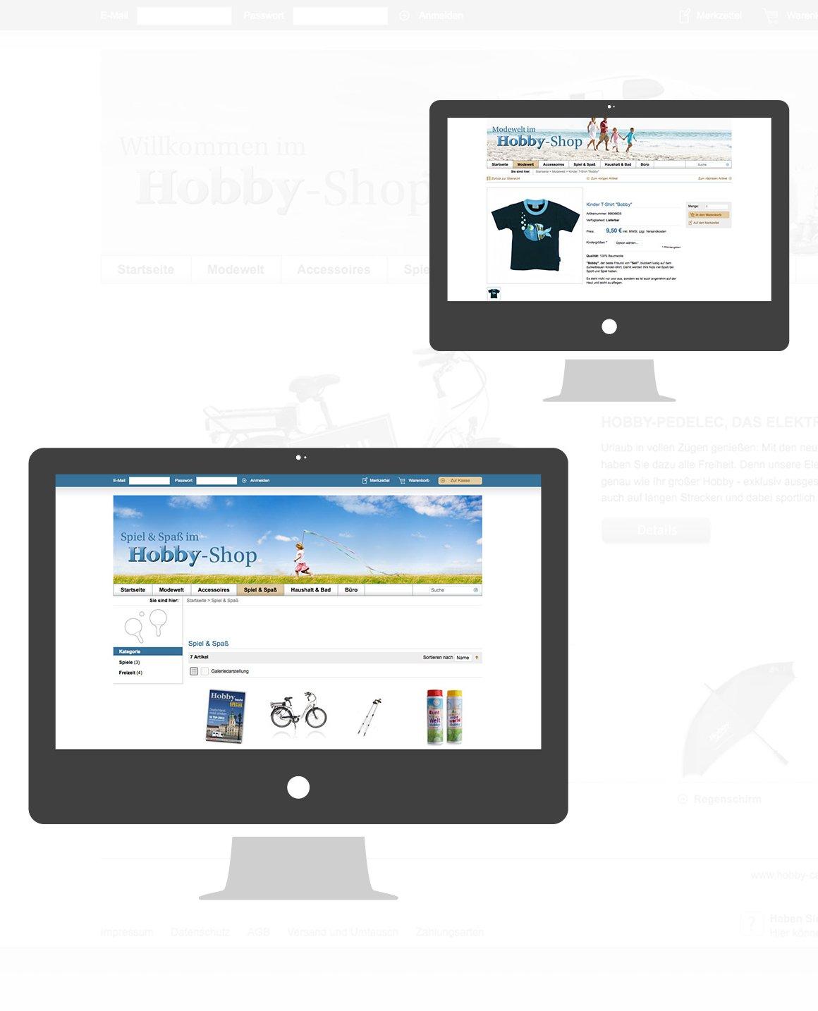 Hobby Caravan – Onlineshop für Händler sowie Endkunden