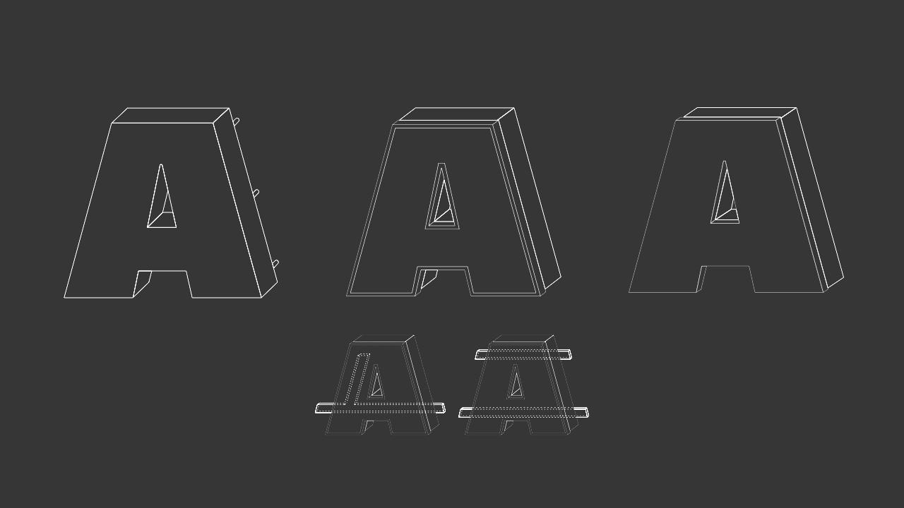 Profil 5 - Buchstaben