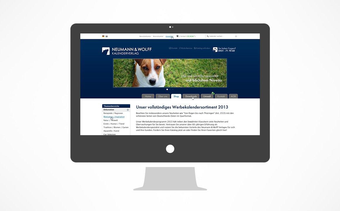 Neumann Wolff - Onlineshop